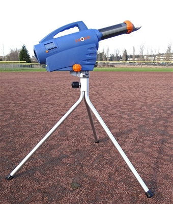 ZS740 Pitching Machine with Tall Tripod