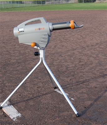ZS720 Pitching Machine with Tall Tripod